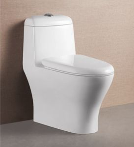 China best price wc water closet bathroom ceramic siphonic toilet china one piece toilet - Model deco wc ...