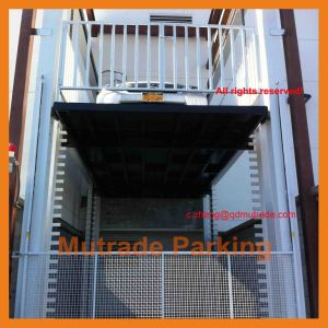 2 3 Floors Levels Car Cargo Goods Freight Lift Table pictures & photos