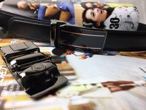 Ratchet Leather Straps for Men (HPX-170403) pictures & photos
