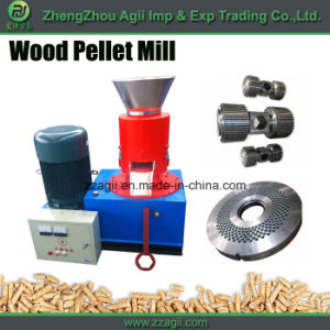 China Supplier Flat Die Ce Wood Pellet Machine for Biomass Sawdsut pictures & photos
