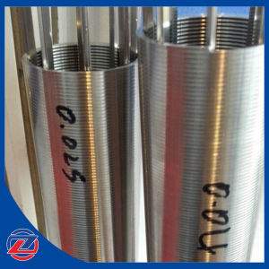 25 Microns Filtering Gaps Stainless Steel Wedge Wire Wrapped Screen Filter pictures & photos