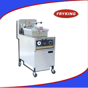 Mechanically Controlled Type Broasted Gas Pressure Fryer Pfg-500 pictures & photos