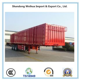 China Heavy Duty Dry Van Cargo Trailer Box Truck Trailer pictures & photos