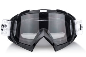 Water Transfer Printing TPU Frame Anti Slip Goggles for Motocross pictures & photos
