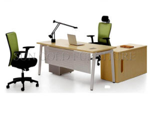 Modern Steel Foot Office Desk (SZ-OD038) pictures & photos