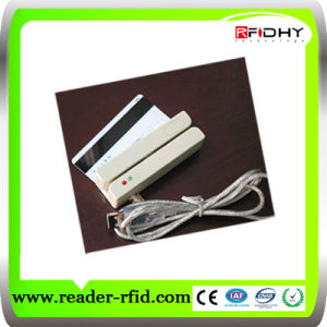 USB 3 Track Magnetic Card Swipe RFID Reader pictures & photos
