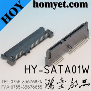 SATA Cable Connector/FPC Connector (HY-SATA01W) pictures & photos
