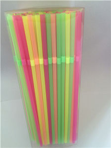 Party Supply, PVC Box Packaging Flexible Plastic Drinking Straw pictures & photos