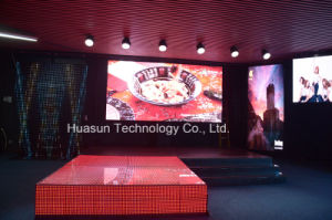 Magnet Self-Lock Video Grid LED Module Flexible LED Screen for Creative Stage Screen pictures & photos