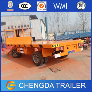2xle Flatbed Full Trailer Cargo Trailer Price pictures & photos