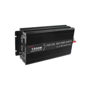 1.5kw Pure Sine Wave Solar Power Inverter with 24V 220V pictures & photos