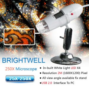 J500x Digital Microscope Built-in White Ledx4 (BW788)
