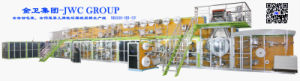 Adult Diaper Making Machine with Elastic Ear Loop pictures & photos