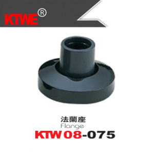 Black Nylon Door Flange for Partition Aluminum (KTW08-075)