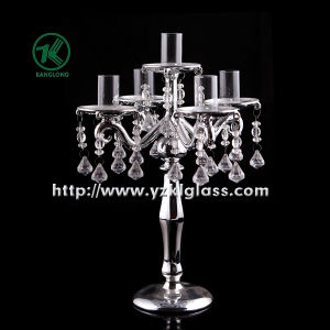 Glass Candle Holder for Home Decoration by SGS... pictures & photos