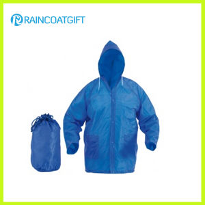 Eco-Friendly Waterproof Men′s Rain Coat pictures & photos