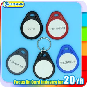 Custom ABS Contactless hitag2 Security RFID Keyfob pictures & photos