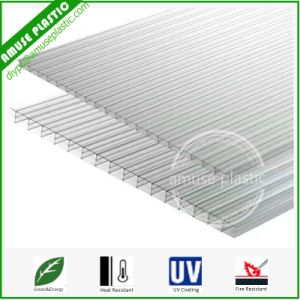 Clear High Quality Triple Wall Polycarbonate Sheets PC 3-Wall Sheets pictures & photos
