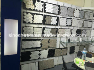 White Tile Marble and Tiles, White Marble Tiles, Living Room Wall Tile Interior Decoration Marble Tile pictures & photos