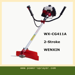 Float Type 2-Stroke 1.5kw Hand Push Side Attached Brush Cutter and Grass Trimmer pictures & photos