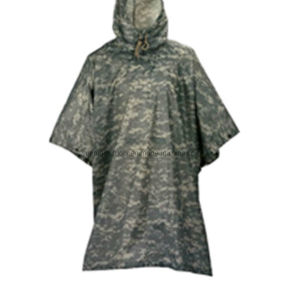 High Qualtiy Army Waterproof Poncho pictures & photos