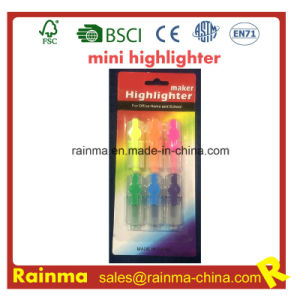Funny Mini Highlighter for Kids Stationery pictures & photos
