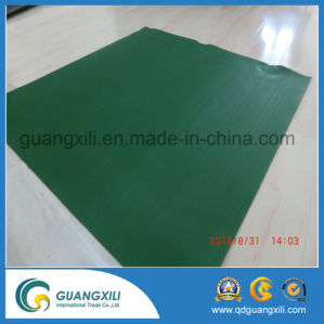 Anti Slip Fine Rib Rubber Green Rubber Sheet pictures & photos