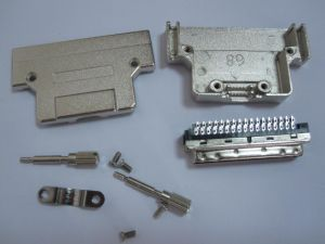 SCSI Connector 68p, Hpdb Type, with Metal Cover Top Entry pictures & photos