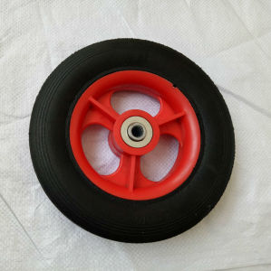 Streight Line Solid Rubber Powder Wheel pictures & photos