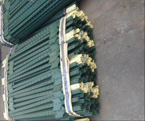 6FT 1.25lb American Green Painted Studded Metal T Post pictures & photos