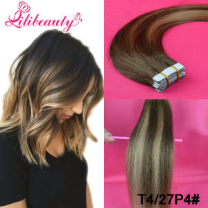 Wholesale Real Human Hair Real Tape in Hair Extension pictures & photos