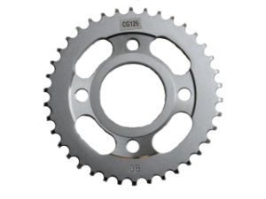 Motorcycle Parts Rear Sprocket of Cg125 pictures & photos