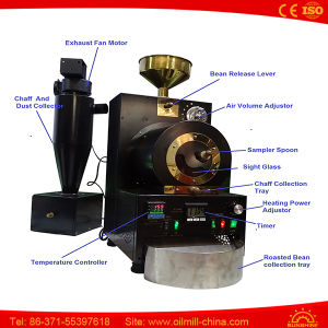 Electric Heat 500 G Coffee Roaster Industrial Coffee Roaster Machine pictures & photos