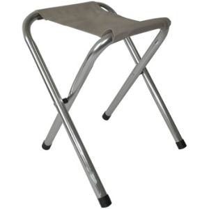 Folding Stool W/ Aluminum Pipes