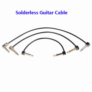 Professional Solderless Guitar Cable Instrument Cable (4.2002) pictures & photos