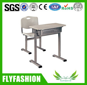 Customized Plastic Desktop Classroom Single Desk and Chair pictures & photos