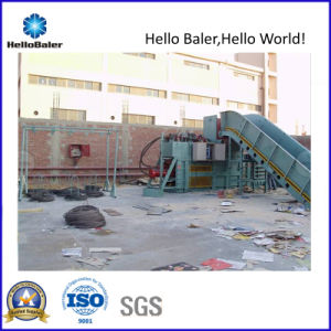 Waste Paper Semi-Auto Hydraulic Strapping Machine (HSA7-10) pictures & photos