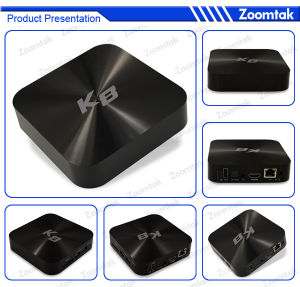 Newest Live Streaming TV Box with Quad Core WiFi Bluetooth pictures & photos