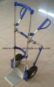 Manufacturing Strong Aluminium Hand Trolley Ht1888 pictures & photos