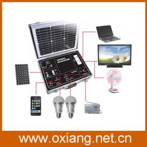 AC220V / AC110V 500W Portable Home Solar Energy Generator (OX-SP500A) pictures & photos