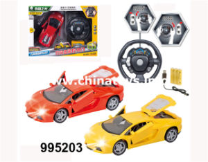 Plastic 1: 18 R/C Car Remote Control Car (995203) pictures & photos