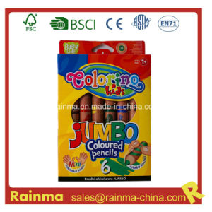 Jumbo Coloured Pencil for School Kids pictures & photos
