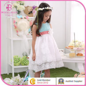 Kids Baby Blue Wedding Clothes Child Girl Party Dress