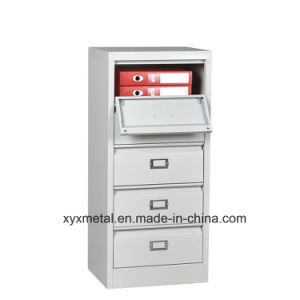 Africa Southeast Asia Storage Cabinet Plastic 5 Drawers/Steel Filing Drawer Cabinet pictures & photos