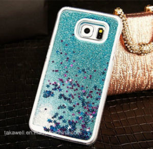 China Wholesale 3D PC Liquid Star Sand Phone Case for Samsung Galaxy J2/J5/J7 Quicksand Cell Phone Cover Case pictures & photos