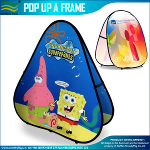 Light Folding Double Sided Pop up a Frame Banner Display (A-NF22F06024) pictures & photos