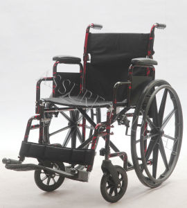 Steel Manual, Quick-Release, Wheelchair, Folding, (YJ-023) pictures & photos