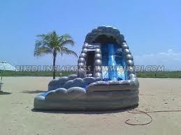 Inflatable Wet/Dry Slide Sale to USA, Good Price Inflatable Slide B4070 pictures & photos