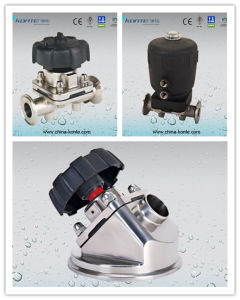 Stainless Steel Sanitary Diaphragm Valve From China pictures & photos