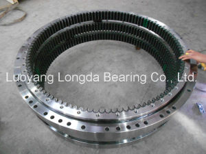 Four-Point Contact Ball Slewing Bearing Slewing Ring Swing Circle for Komatsu Excavator (PC50-7 model) pictures & photos